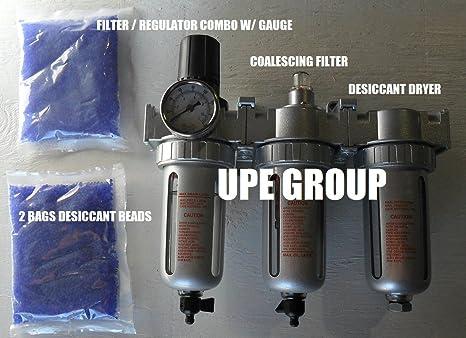 """3/8 """"aire comprimido filtro de partículas de agua Trampa/regulador de"""