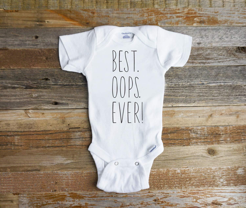 Amazon.com: Best Oops EVER onesie - funny baby onesie or tshirt