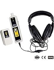 all-sun Ultrasonic Leak Detector & Transmitter Air Water Dust Leak Pressure with Headphone Accessory Kit LED Indication