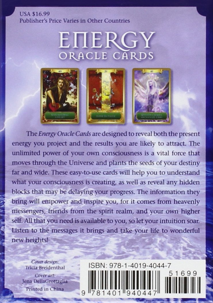 Tarot Cards Sandra Anne Taylor Energy Oracle Cards 10x14x4.5cm