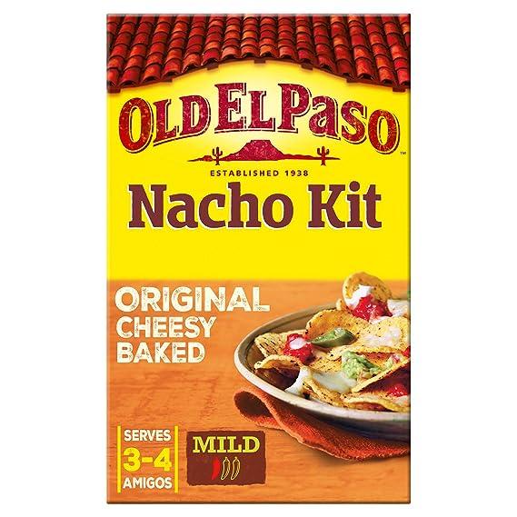 Kit Nachos Mexicanos Old El Paso, Pack 520 gr