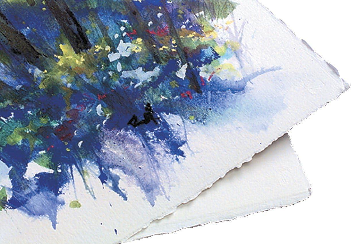 Arcos 100% algodón rugosa sin ácido papel para acuarela, 140 ...