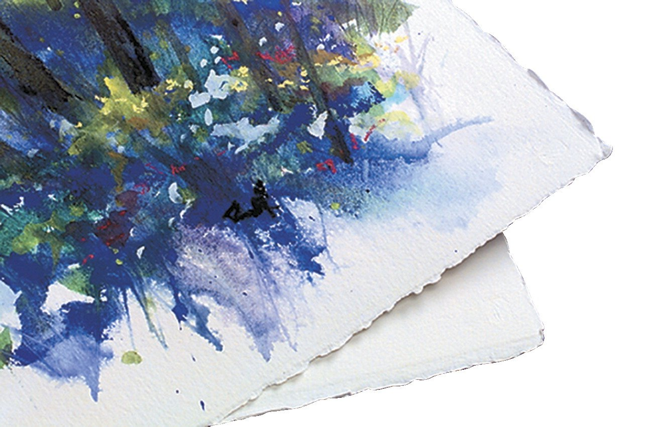 Arches Cold Press Watercolor Paper, 140 lb, 22 x 30 Inches, Off White, Pack of 10 by Arches