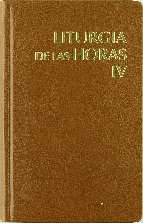 Liturgia de las horas latinoamericana - vol. 4: Amazon.es: Conferencia Epsicopal de México, Conferencia Epsicopal de Colombia: Libros