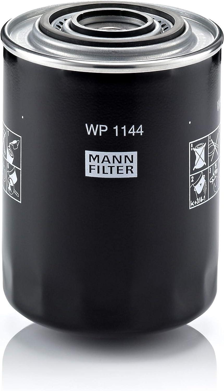 MANN-FILTER WP 1144 Original Filtro de Aceite, para transportadoras, camiones, autobuses y vehículos de utilidad