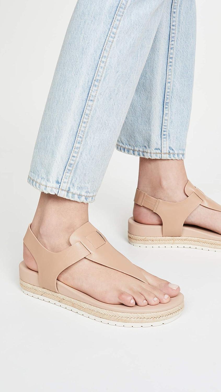 Vince Women's Flint Flatform Thong Sandals Cappuccino