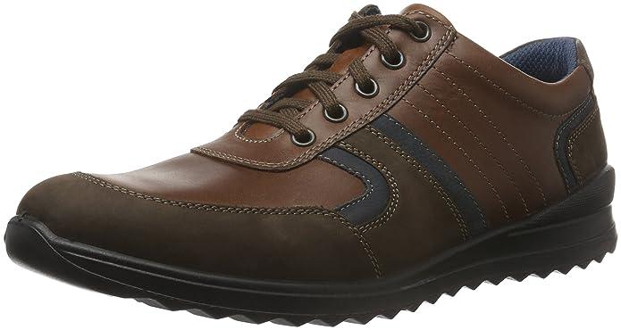 Zapatos Oxford de Cuero Hombre, Color Multicolor, Talla 47 EU Jomos