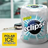 ECLIPSE Polar Ice Sugarfree Gum, 2.9-Ounce 60 Piece