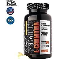 Premium L-Carnitina Cápsulas 60 caps Forzagen Suplemento Gym