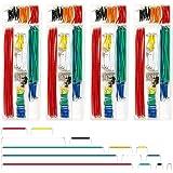 REXQualis 840 Pieces Breadboard Jumper Wire Kit with 14 Lengths Assorted Jumper Wire for Breadboard Prototyping Solder Circui
