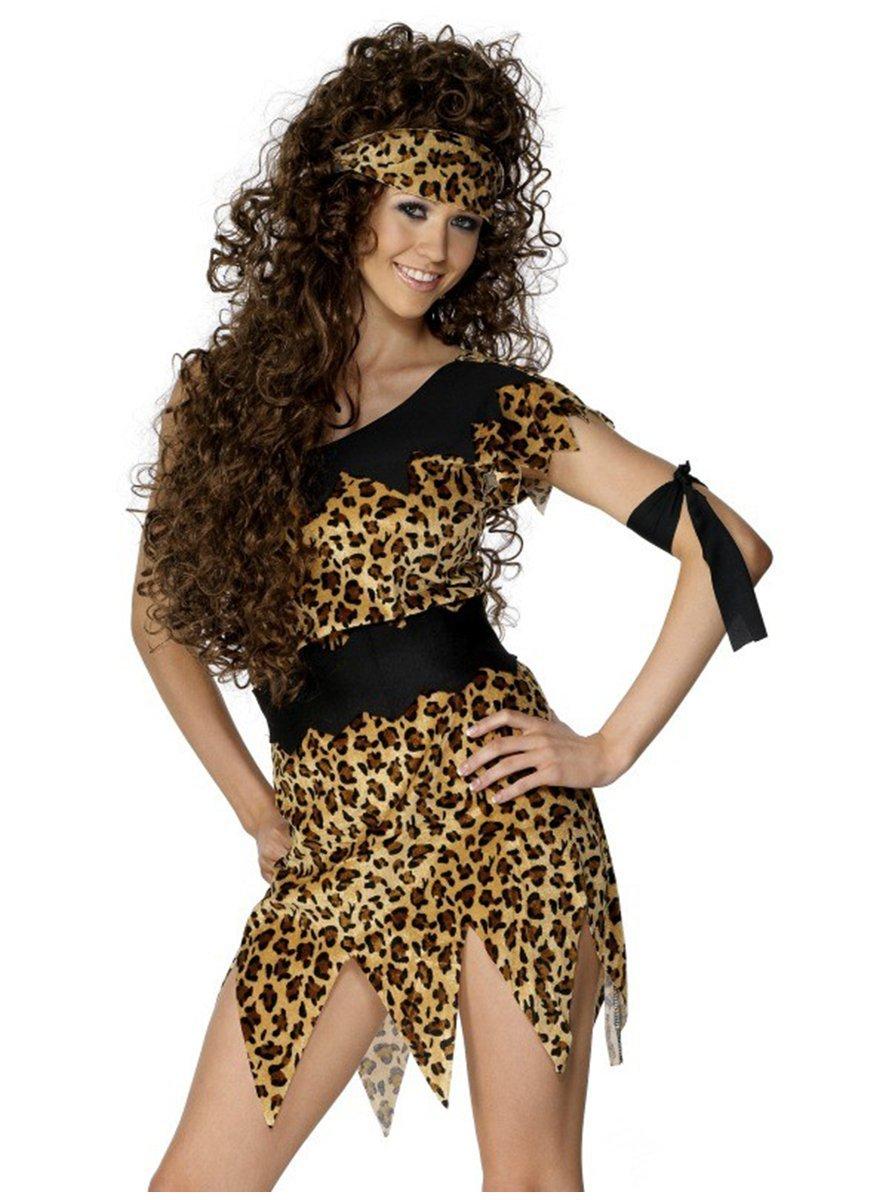 Disfraz de mujer cavernícola - M: Amazon.es: Juguetes y juegos