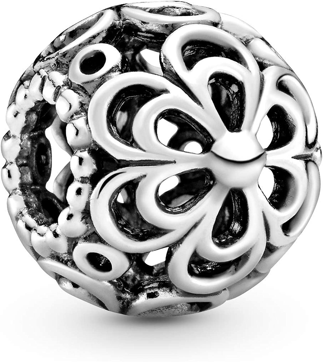 Pandora Jewelry Picking Daisies Sterling Silver Charm