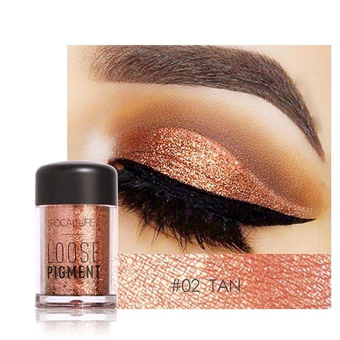 12 Colors Eye Shadow , zycShang Makeup Pearl Metallic Eyeshadow Palette Cosmetic Eyeshadow Blush Lip Gloss Powder Beauty Tool (#02)