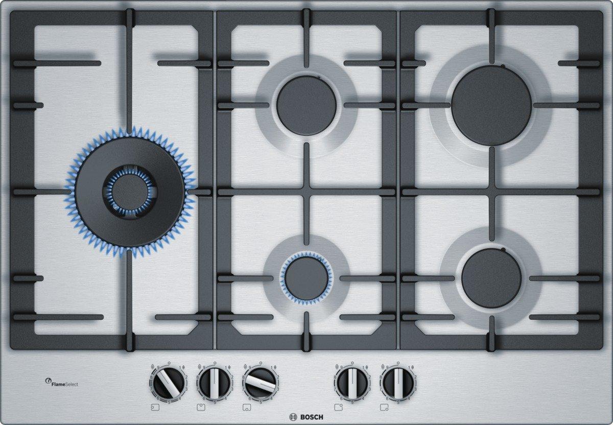 Bosch Serie 6 PCS7A5C90D hobs Negro, Acero inoxidable Mesa ...