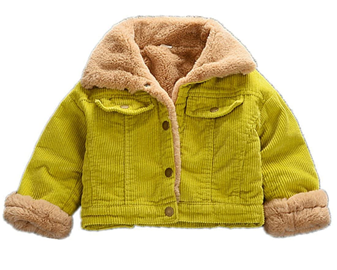 omniscient Boys Fashion Sherpa Fleece lined Jacket Warm