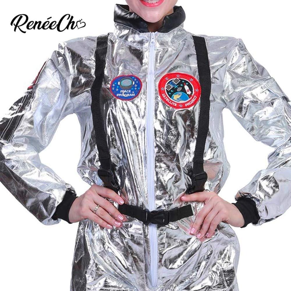 Halloween Costumes For Women Astronaut Costume Adult Sliver ...
