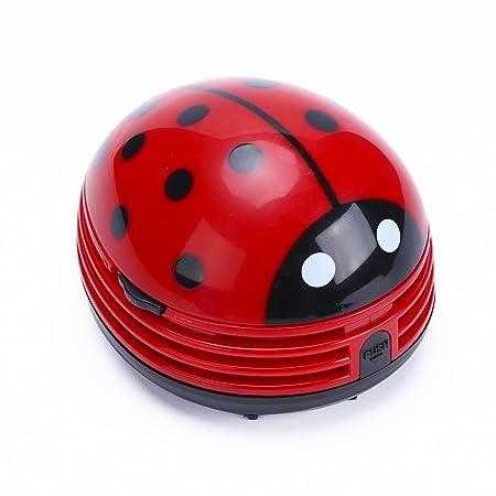 Callum Clements portátil aspiradora Robot Mariquita para mesa Mini ...