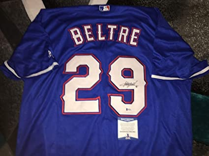 best service 515df 954f3 Adrian Beltre Autographed Signed/Auto Texas Rangers Jersey ...