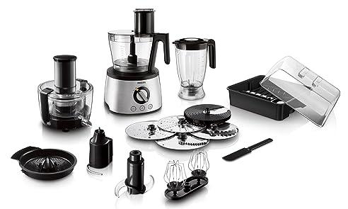 Amazon.de: Philips HR7778/00 Küchenmaschine (1300 W, 30 Funktionen ...