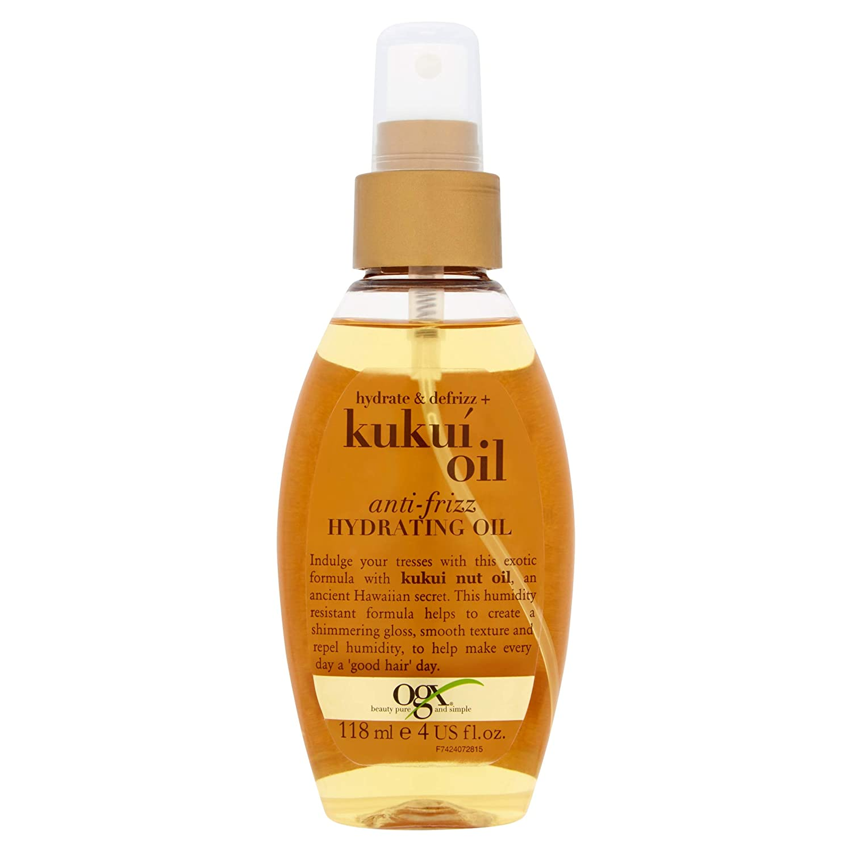 Organix Kukui Anti-Frizz Hydrating Oil 118 ml Obelis V97424