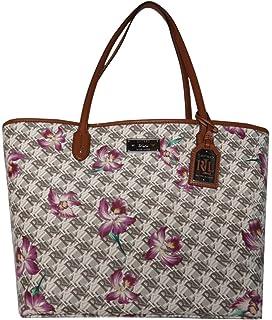 Amazon.com  Lauren Ralph Lauren Womens Boswell Classic Tote ... 5ab553bbf8ff2