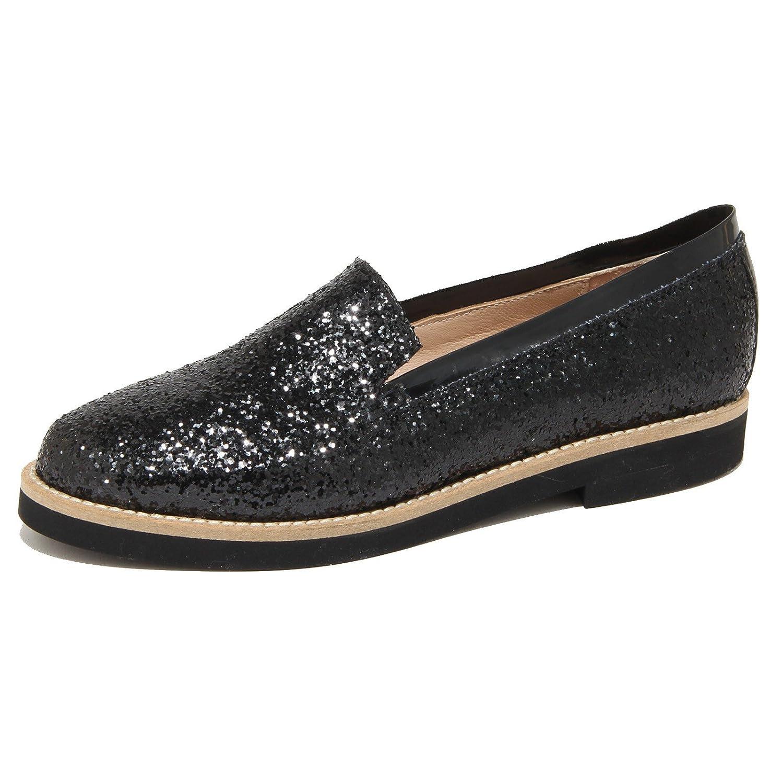 8976N mocassino donna SANTA CLARA glitter nero scarpe Donna Donna Donna f27269