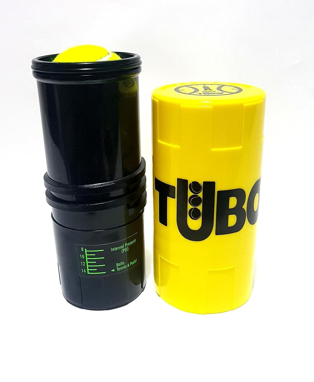 Tuboplus - Bote presurizador de pelotas de padel y tenis, color (amarillo flúor) Ahorra bolas por un tubo + mas vida para tus bolas: Amazon.es: Deportes y ...