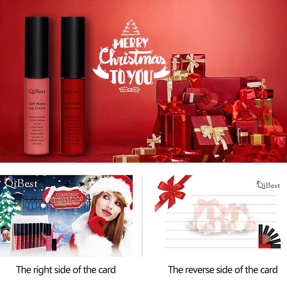 Gracefulvara Christmas 9 Colors Lip Gloss Set,Best Gift,Set 2
