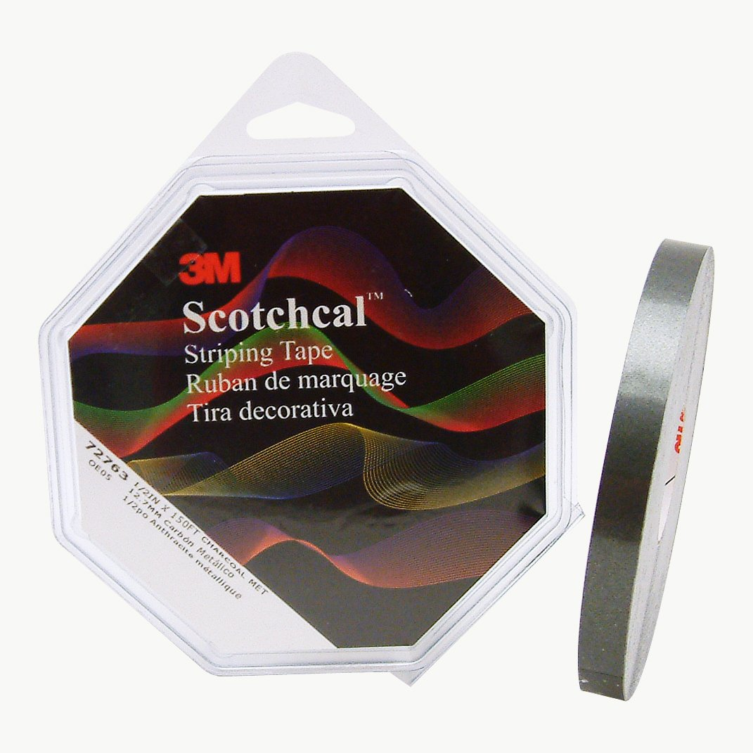 Red 1//8 inch 3M Scotch Scotchcal Striping Tape 70204