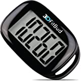 3DFitBud Simple Step Counter Walking 3D Pedometer with Lanyard, A420S