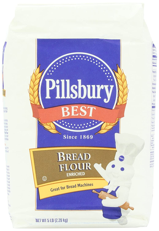 Amazon Com Pillsbury Best Bread Flour 5 Pound Flour And Meals Grocery Gourmet Food