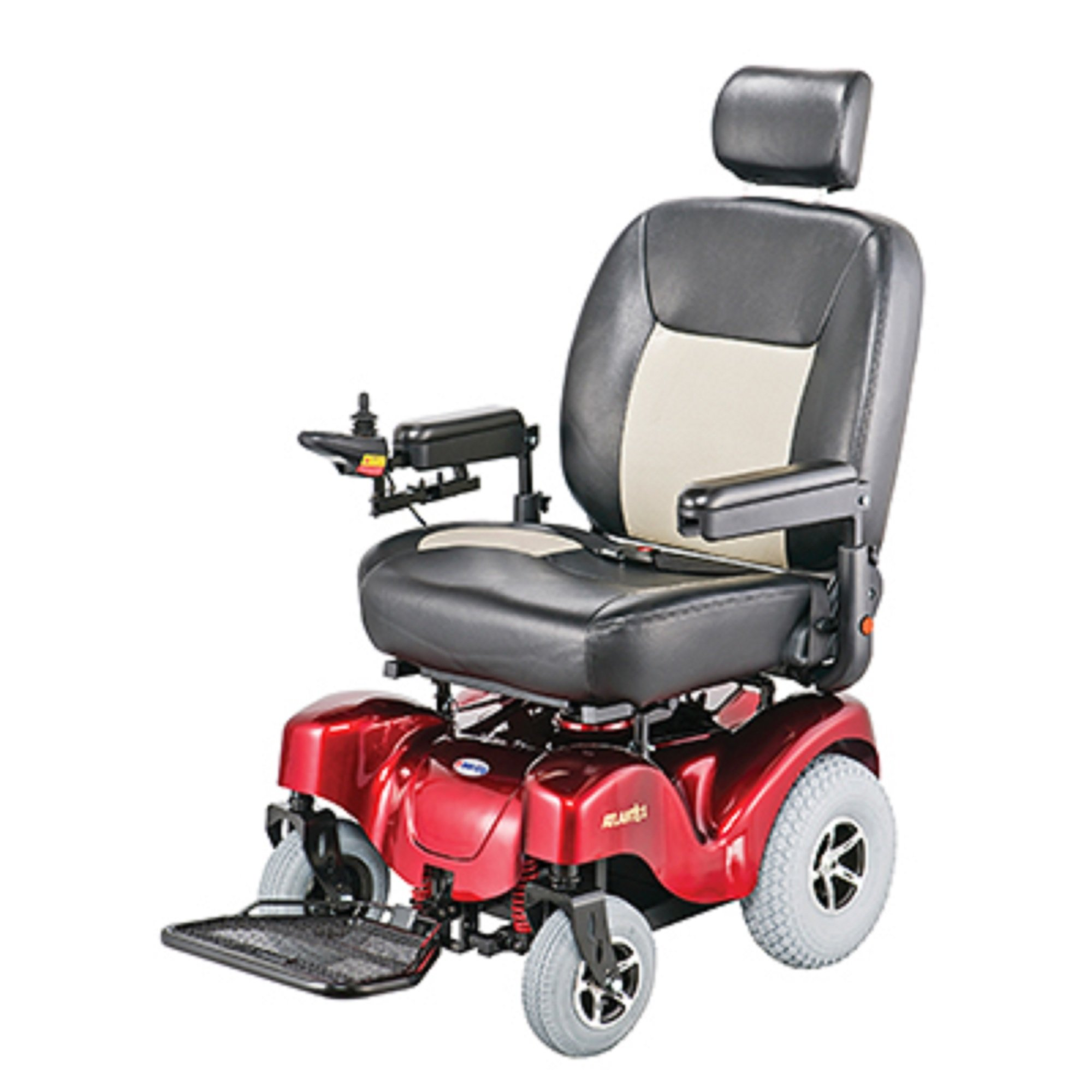 Merits Health Products - Atlantis - Bariatric Power Chair - 24''W x 20''D - Red
