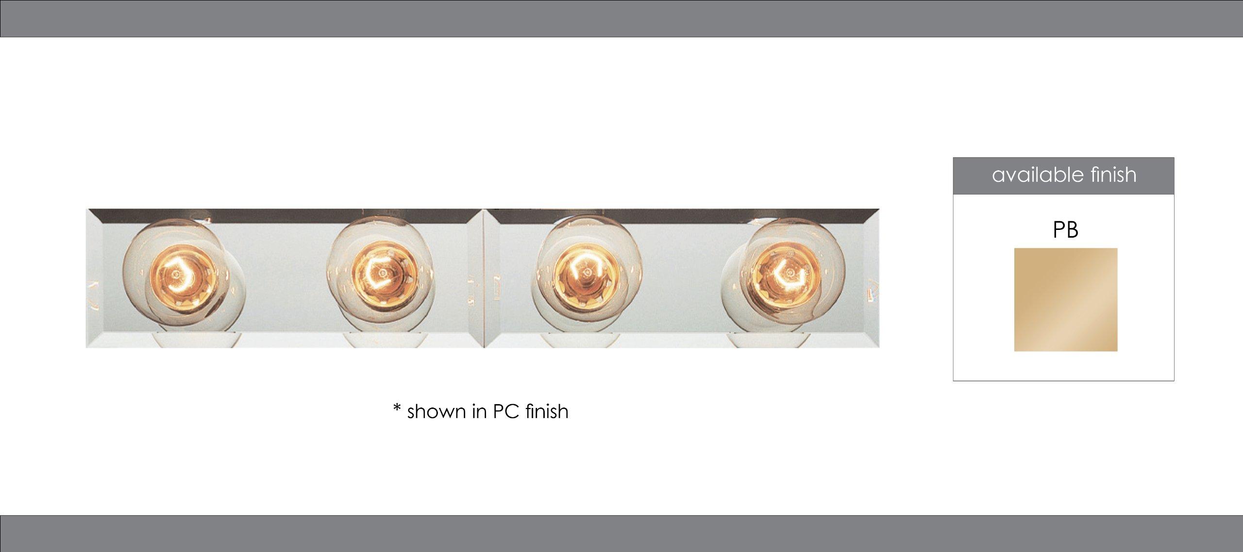 Trans Globe Lighting 3204 PB Indoor  Lyric 24'' Vanity Bar, Polished Brass