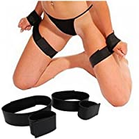 Sex Toys, Sex Toys4 pour Couple 2 Pair BDSM Handcuffs Leg Thigh Straps Bondage Set Restraints Fetish Sex Toy