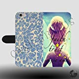 Little Bit of Faith Trust Pixie Dust Tinkerbell Princess Faux Leather Magnetic Clasp Holder Phone Case Cover for iPhone 7 Plus