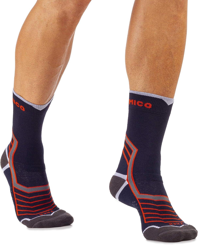 MICO Mens Calza Corta Medium Lana Merinos Socks