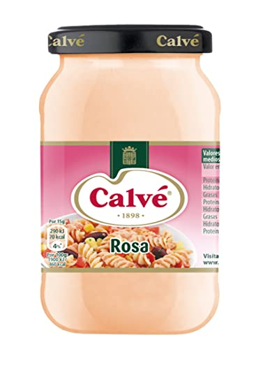 SALSA CALVE ROSA 225G