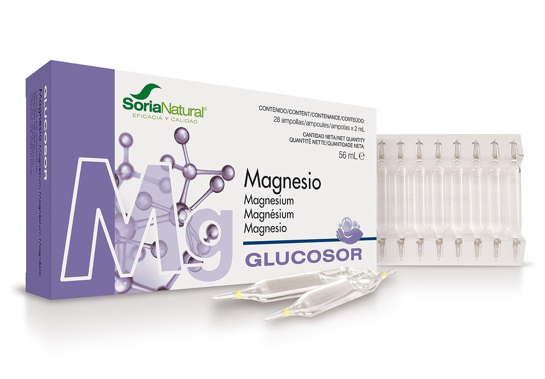 Soria Natural Glucosor Magnesio - 28 Unidades: Amazon.es: Salud y cuidado personal