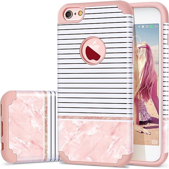 Amazon Com Iphone 6s Case For Girls Iphone 6 Case Fingic Hybrid 2