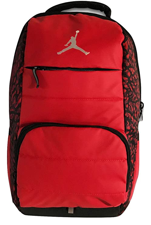 3c09270437 Amazon.com  Nike Jordan All World Backpack (Red Print)  Computers    Accessories