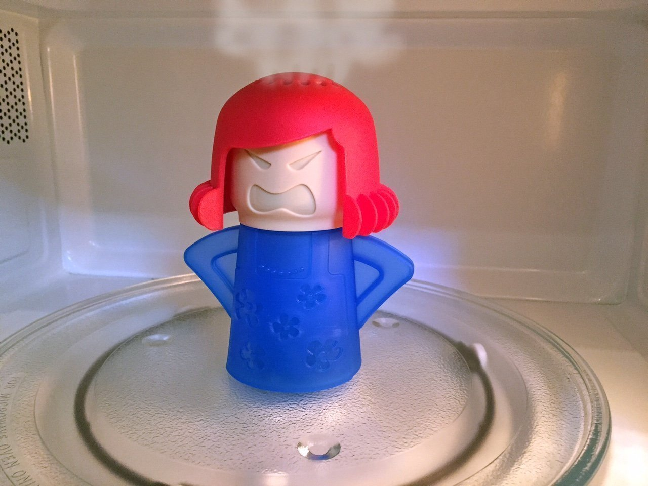 Angry Mama Microwave Cleaner $...