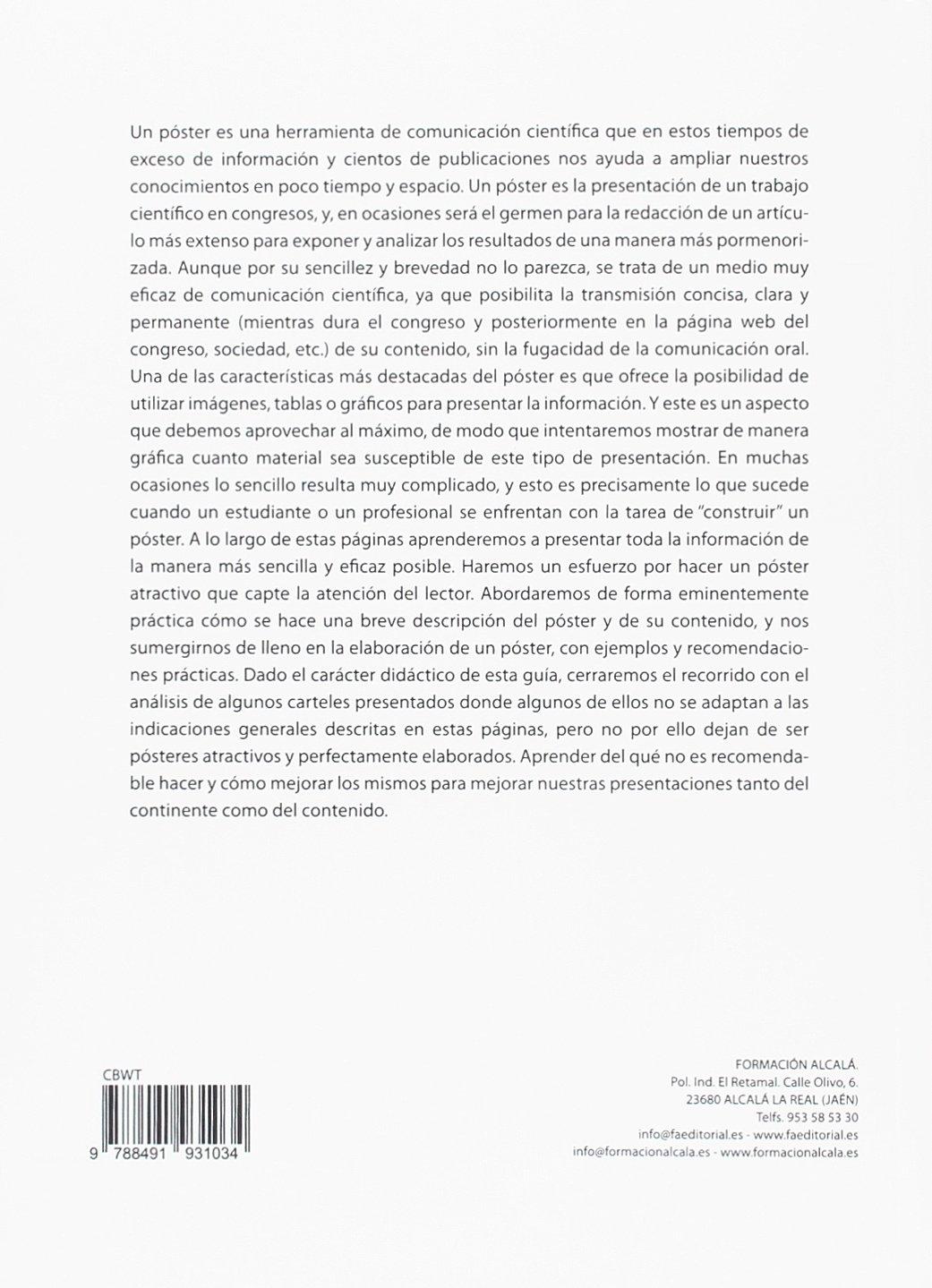 COMO ELABORAR UN POSTER CIENTIFICO CIENCIAS SANITARIAS ...