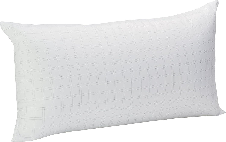 Pikolin Home - Almohada de fibra Antistress con hilo de carbono, 40x75cm, altura 18cm (Todas las medidas)