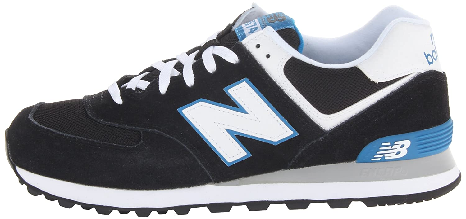 new balance ml574 kwb black