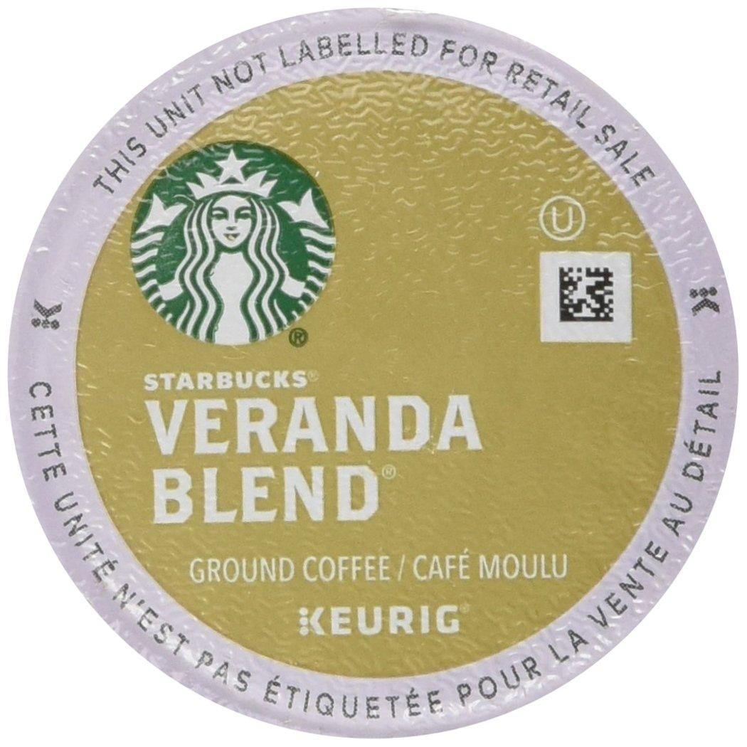 Starbucks Veranda Blend Blonde, K-Cup for Keurig Brewers, 96 Count
