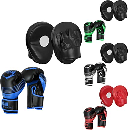Boxing Punching Pads Mitts Gloves MMA Focus Boxing Hand Sparring Gloves Tool New