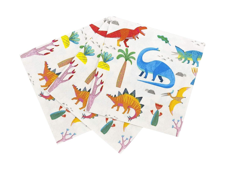 9 Dia Dinosaur Party Supplies Dinosaur Birthday Decorations Kids Birthday Party Paper Plates Dinosaur Party Plates Pak of 16 Talking Tables 9 Dia