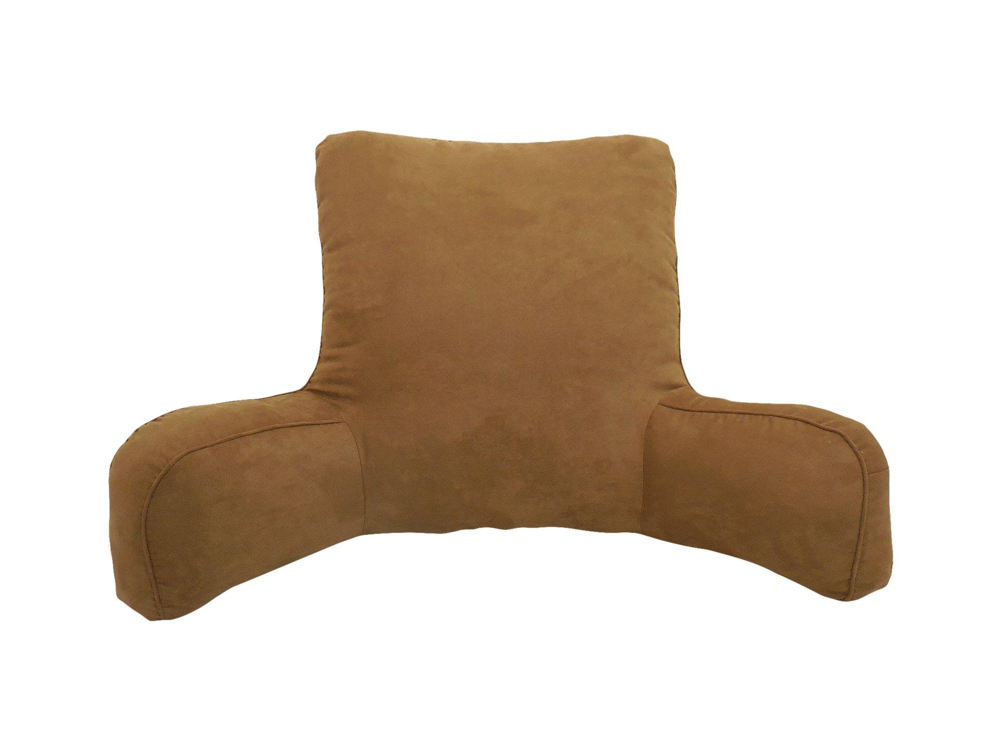 Arlee Suede Oversized Bedrest Lounger, Dachshund