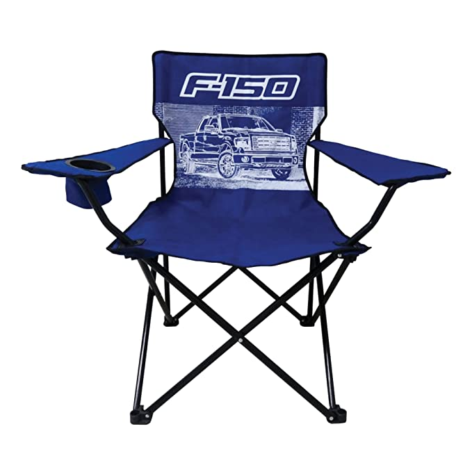 Ford F 150 Truck Big Man Camp Chair With Cup Holder Review