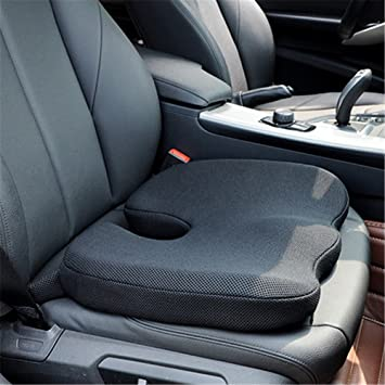 Car Seat Cushions High Density Memory Foam Pad For Office Chair 3D Mesh Cover Coccyx